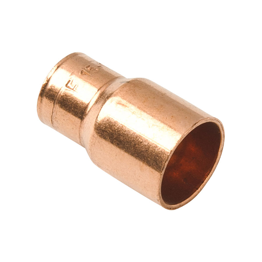 Endfeed Fitting Reducer 22mm x 15mm image 0