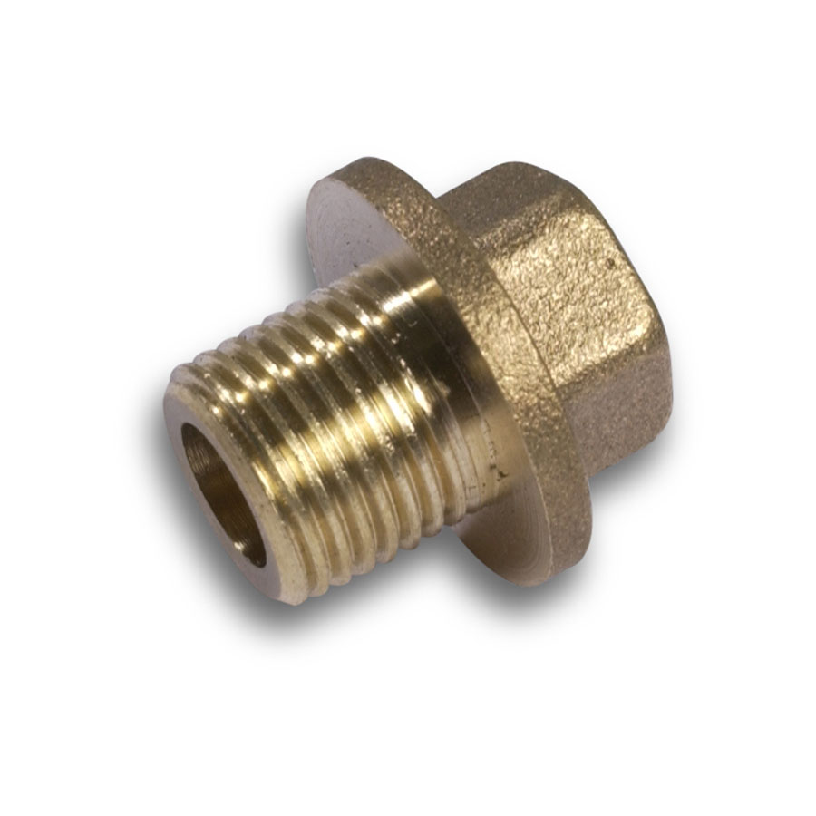 """Brass Fittings Flanged Plug ½"""" BSP image 0"""