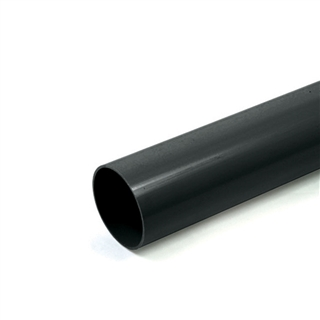 Polypipe Rainwater Round Pipe 68mm 4m White RR123