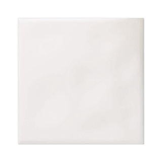 Ceramic Wall Tile White 150mm X 150mm 6 X 6 Plain