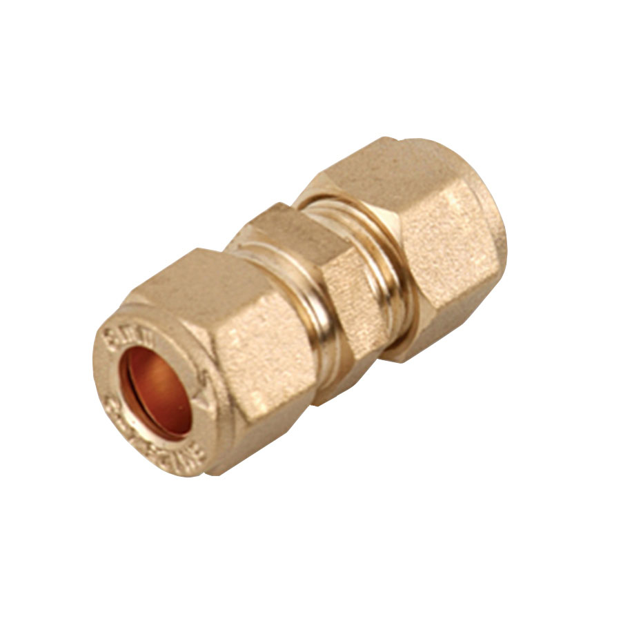 Compression Fitting Reducing Connector 15mm x 8mm image 0