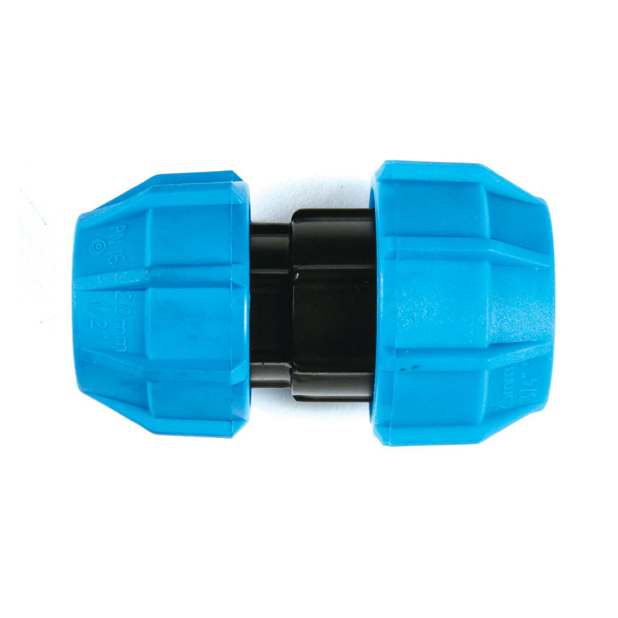 Polyfast MDPE Reducing Coupler 25mm x 20mm 40625 image 0