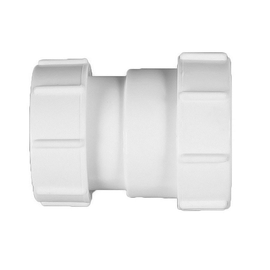 Polypipe Universal Compression Waste 40mm x 32mm Reducer White PS38 image 0