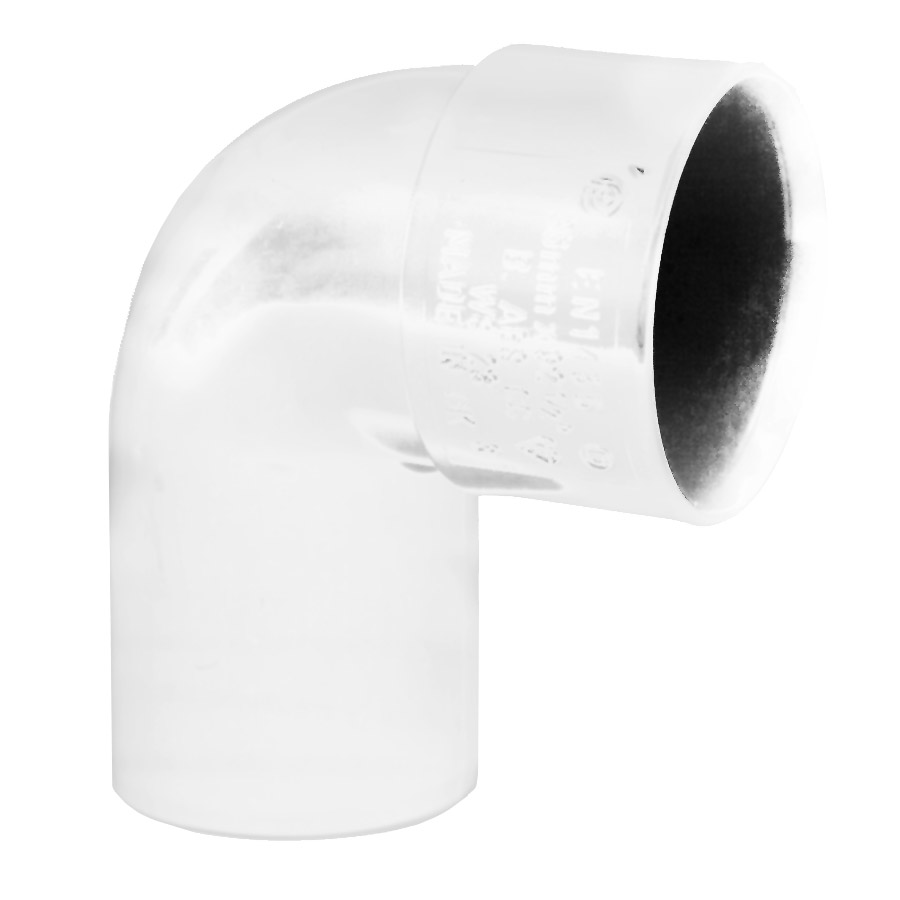 Polypipe Solvent Weld Waste 32mm 92½° Swivel Bend White WS23 image 0