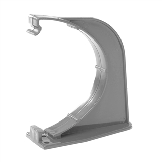 Polypipe Deep Capacity Gutter Fascia Bracket Grey RD509