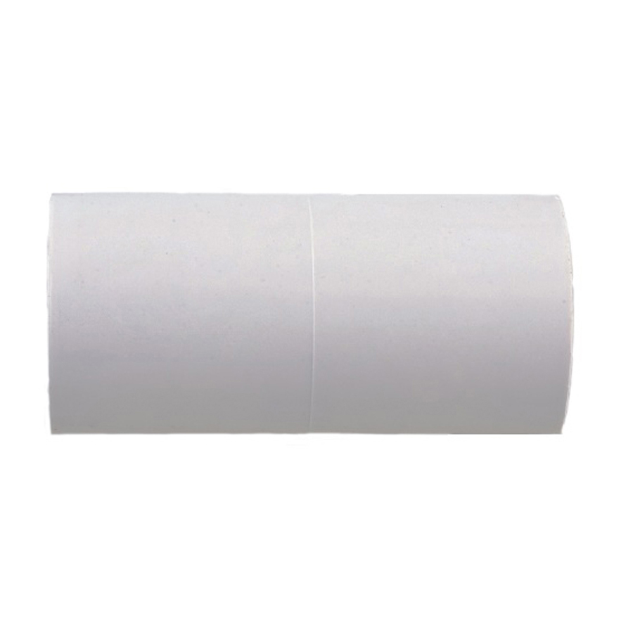 Polypipe Overflow 21.5mm Solvent Weld Straight Connector White NS44 image 0