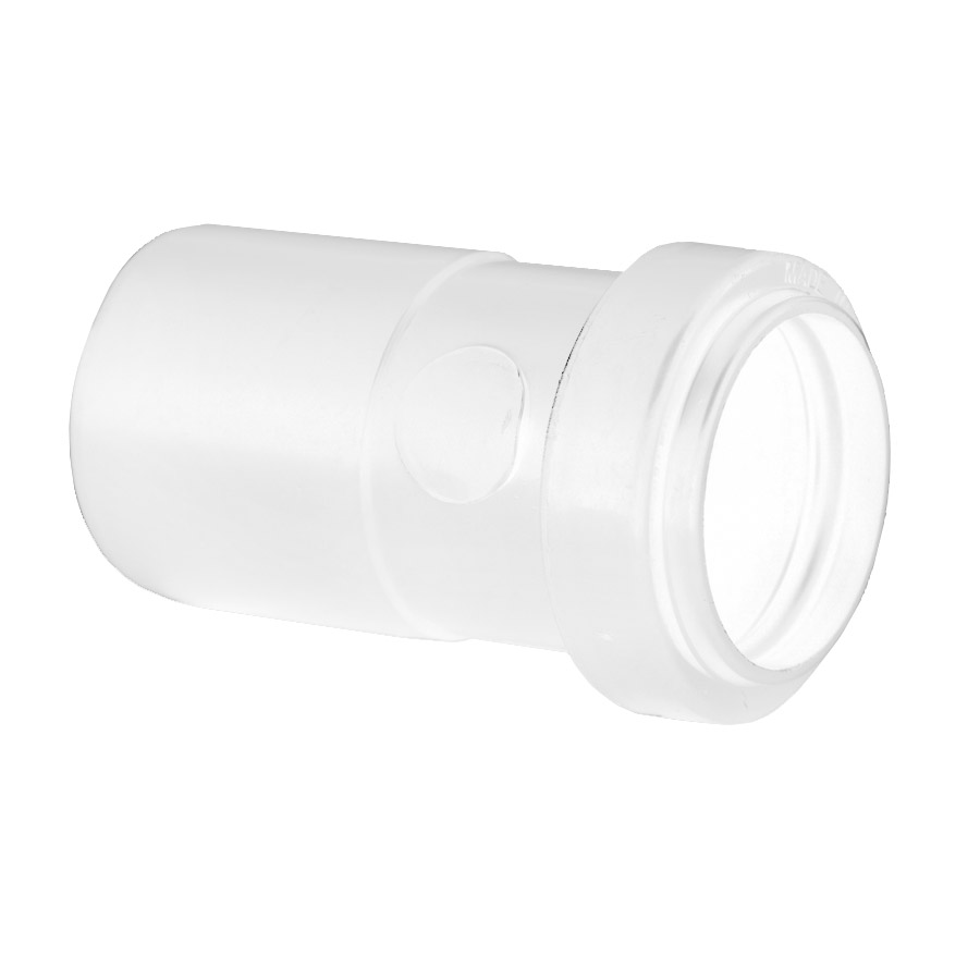Polypipe Push-Fit Waste 40mm x 32mm Reducer White WP27 image 0