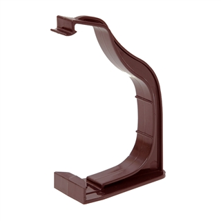 Polypipe Ogee Gutter 130mm x 70mm Fascia Bracket Brown ROG09