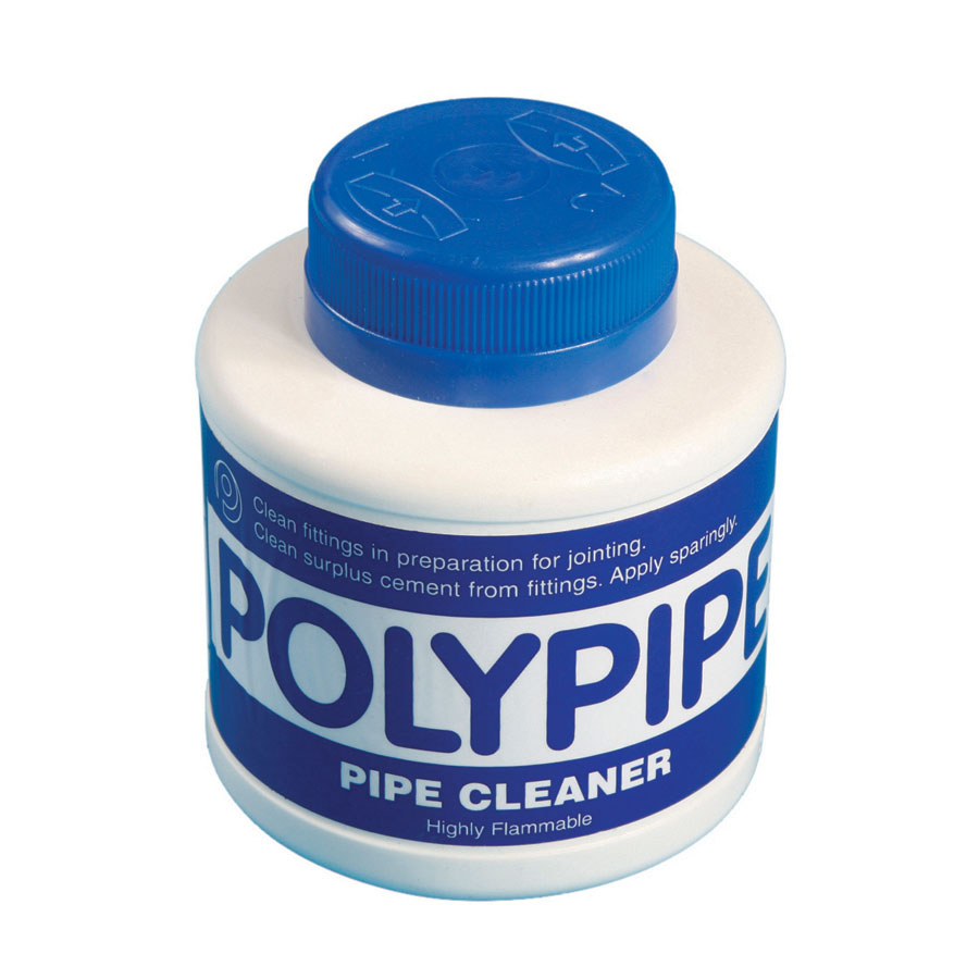 Polypipe Cleaning Fluid 250ml Tin CF250 image 0