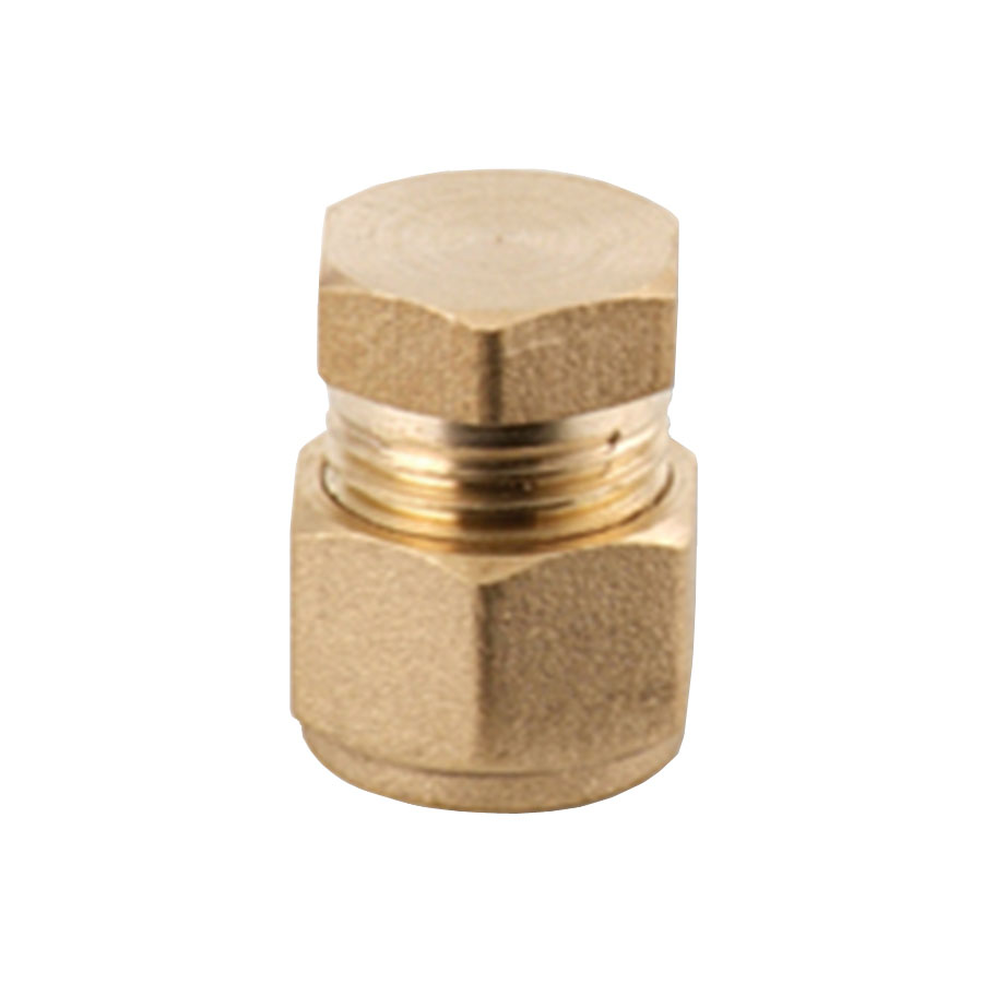 Compression Fitting End Cap 22mm image 0