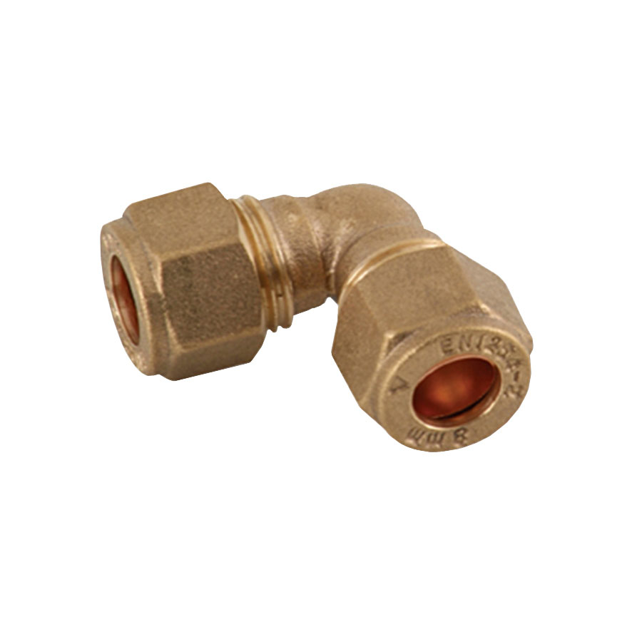 Compression Fitting Elbow 8mm image 0