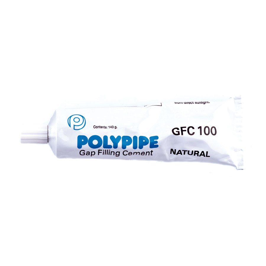 Polypipe Clear Solvent Cement Filler 140g Tube GFC100 image 0