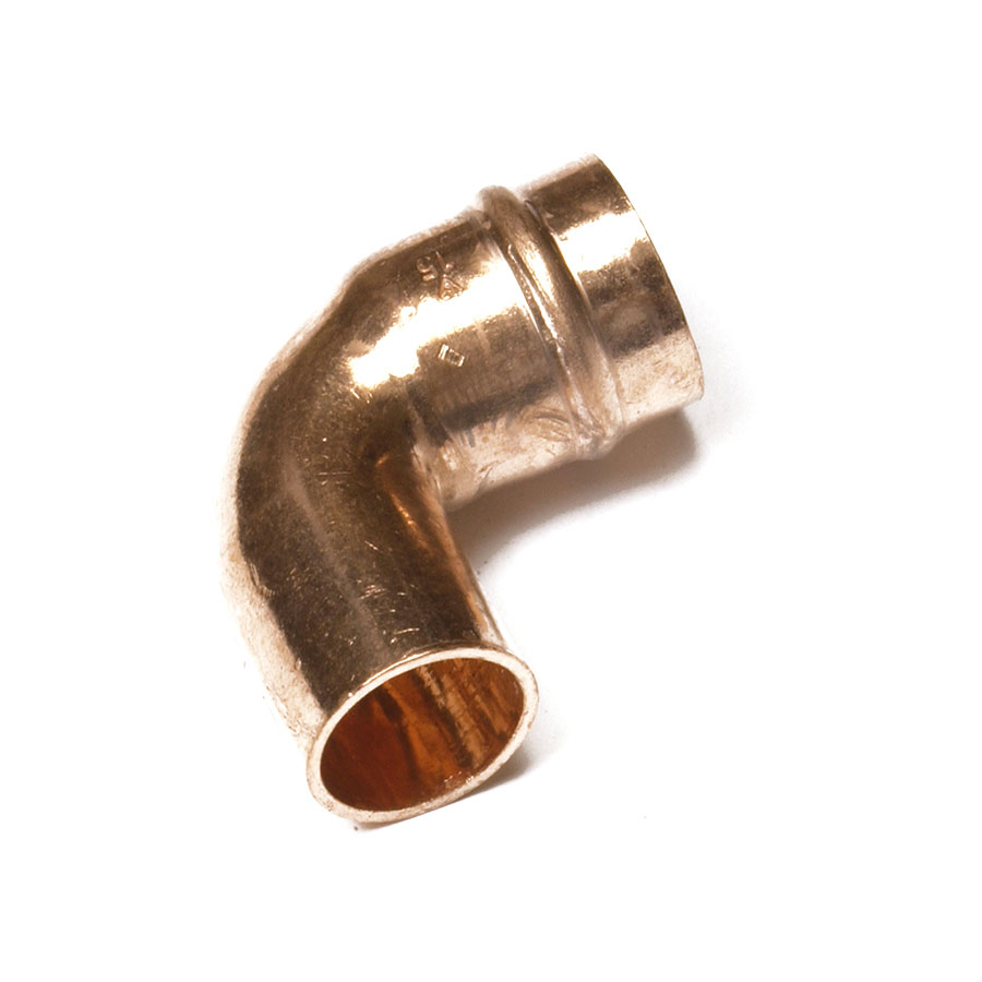 Solder Ring Fitting Street Elbow 15mm image 0