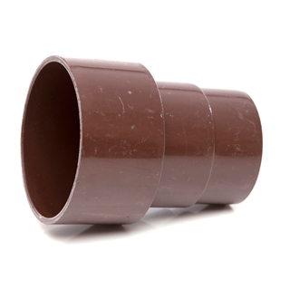 Polypipe 68mm Cast Iron/AC Pipe Connector Brown RR131