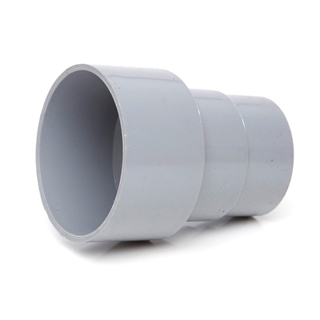 Polypipe 68mm Cast Iron/AC Pipe Connector Grey RR131