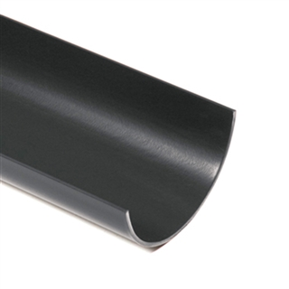 Polypipe Half Round Rainwater 112mm 4m Gutter White RR101
