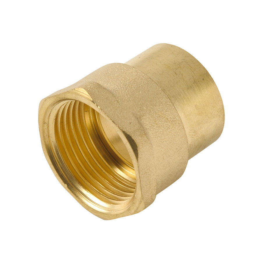 """Endfeed Fitting Adapter 22mm x ¾"""" FI image 0"""