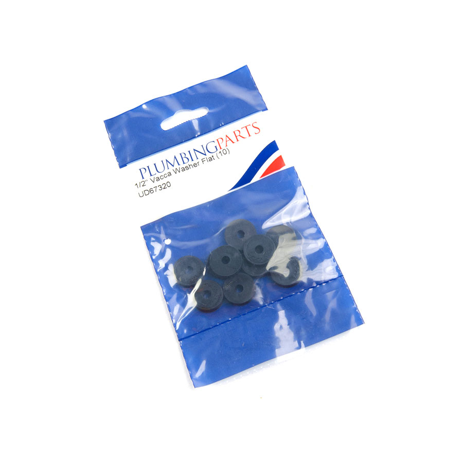 """Pre-Pack ½"""" Vacca Washer Flat image 0"""