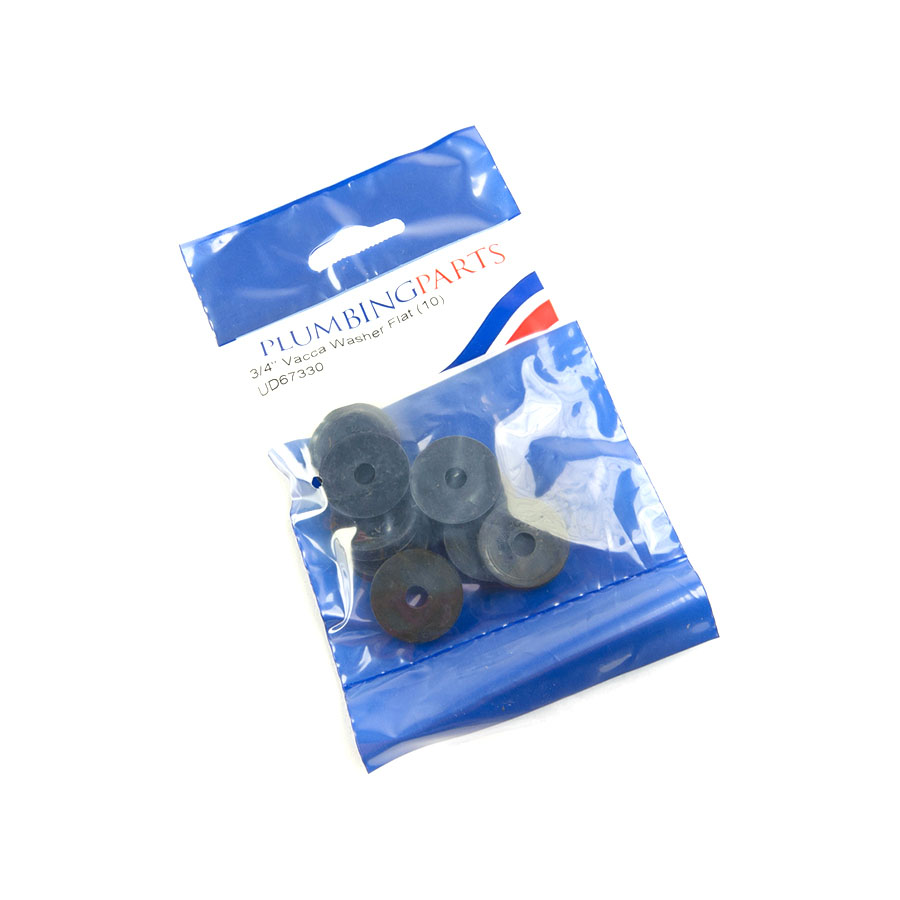 """Pre-Pack ¾"""" Vacca Washer Flat image 0"""