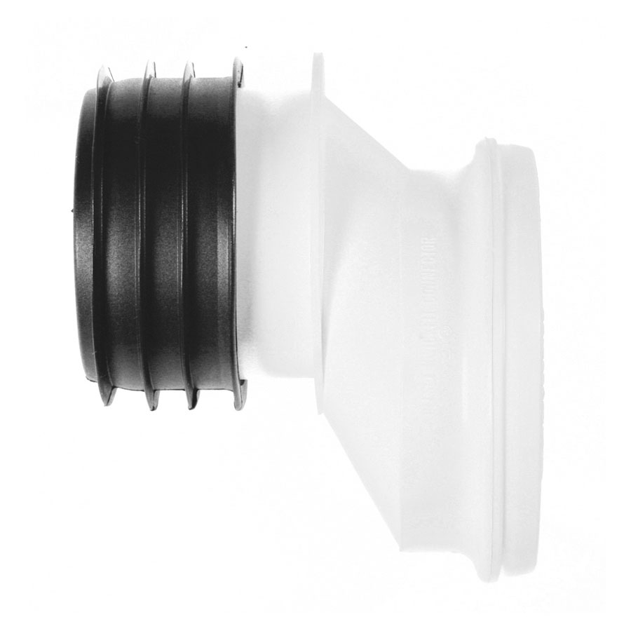 Polypipe Kwickfit 110mm Offset Pan Connector 40mm SK52 image 0