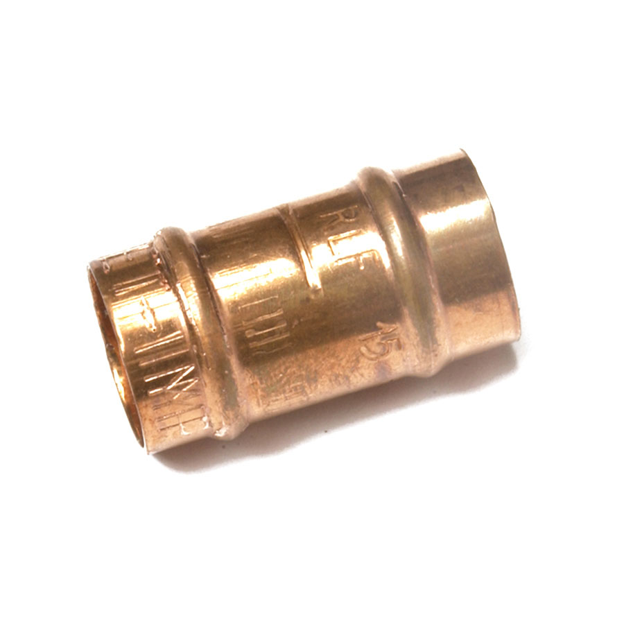 """Solder Ring Fitting Imperial x Metric Slip Adapter ¾"""" x 22mm image 0"""