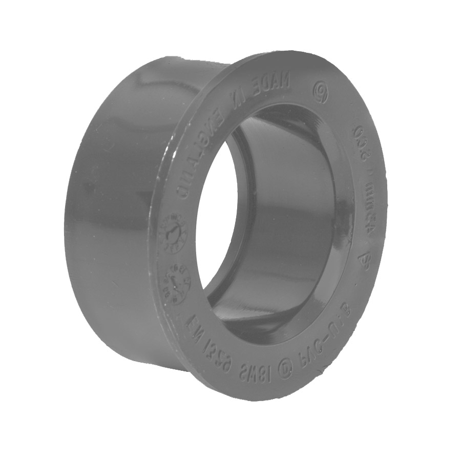 Polypipe Solvent Weld Waste 32mm Boss Adapter Solvent Grey SW80 image 0