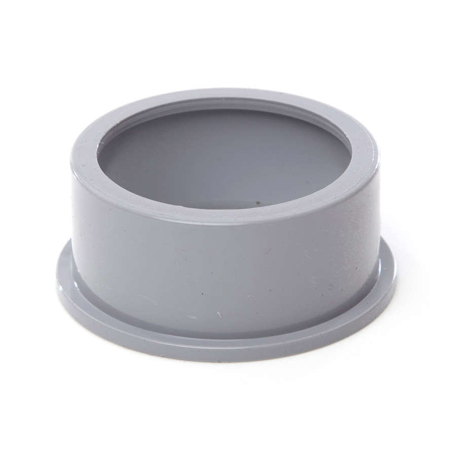 Polypipe Solvent Weld Waste 50mm Boss Adapter Solvent Grey SW82 image 0