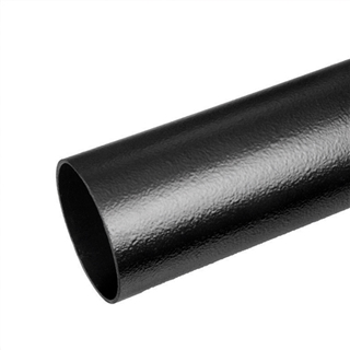 Polypipe Elegance Cast Iron Effect Rainwater Downpipe 5.5m CIRP55BK