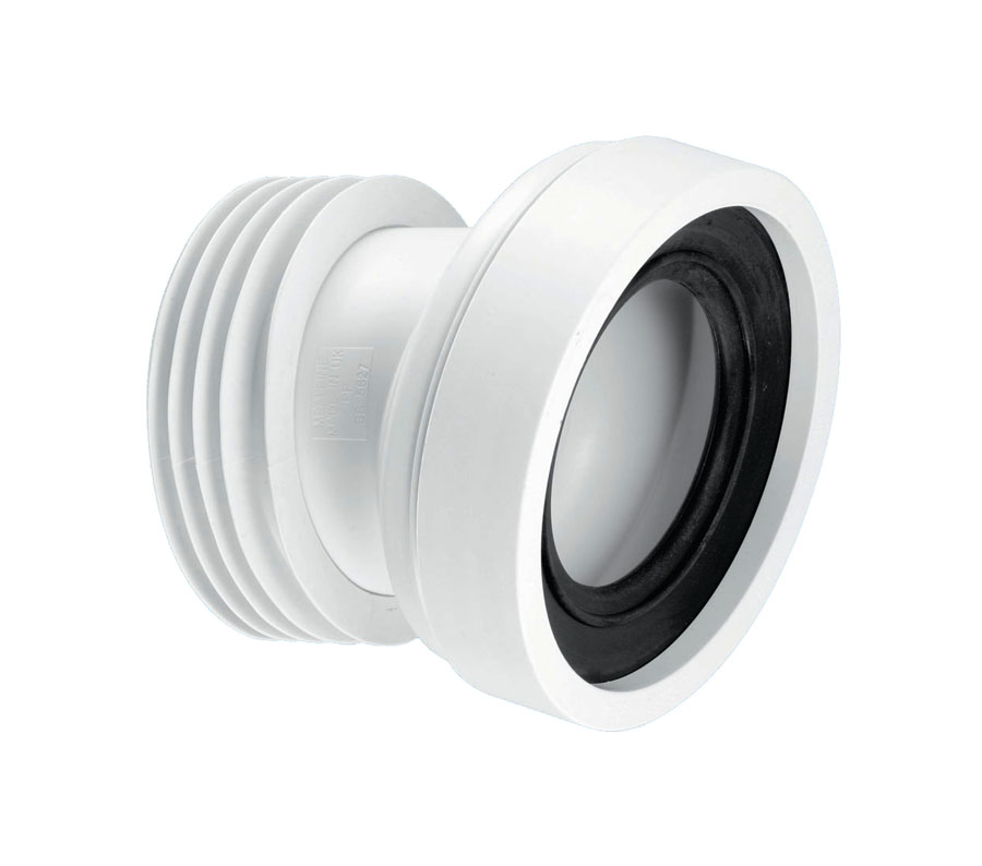 McAlpine WC-CON7A 14° Angle 110mm Pan Connector image 0