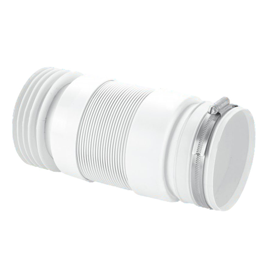 McAlpine WC-F21R Flexible Pan Connector For Back To The Wall Pan image 0