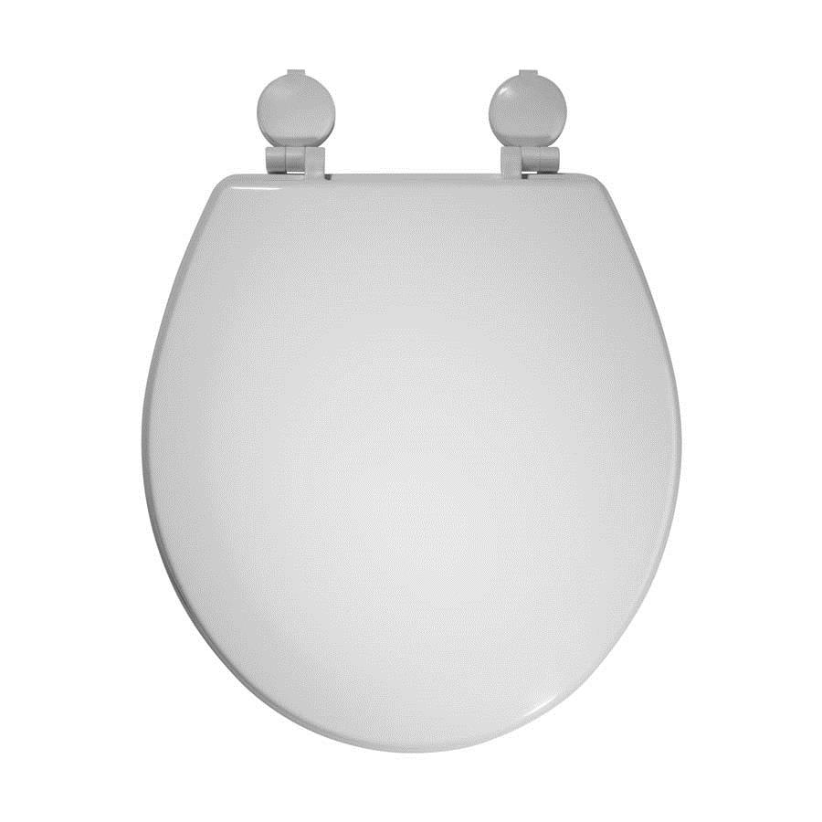 Instinct Opel Moulded Wood Toilet Seat with Plastic Hinges image 0