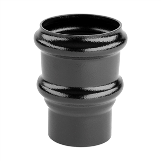Alutec Tudor 63mm Pipe Socket Heritage Black TR220