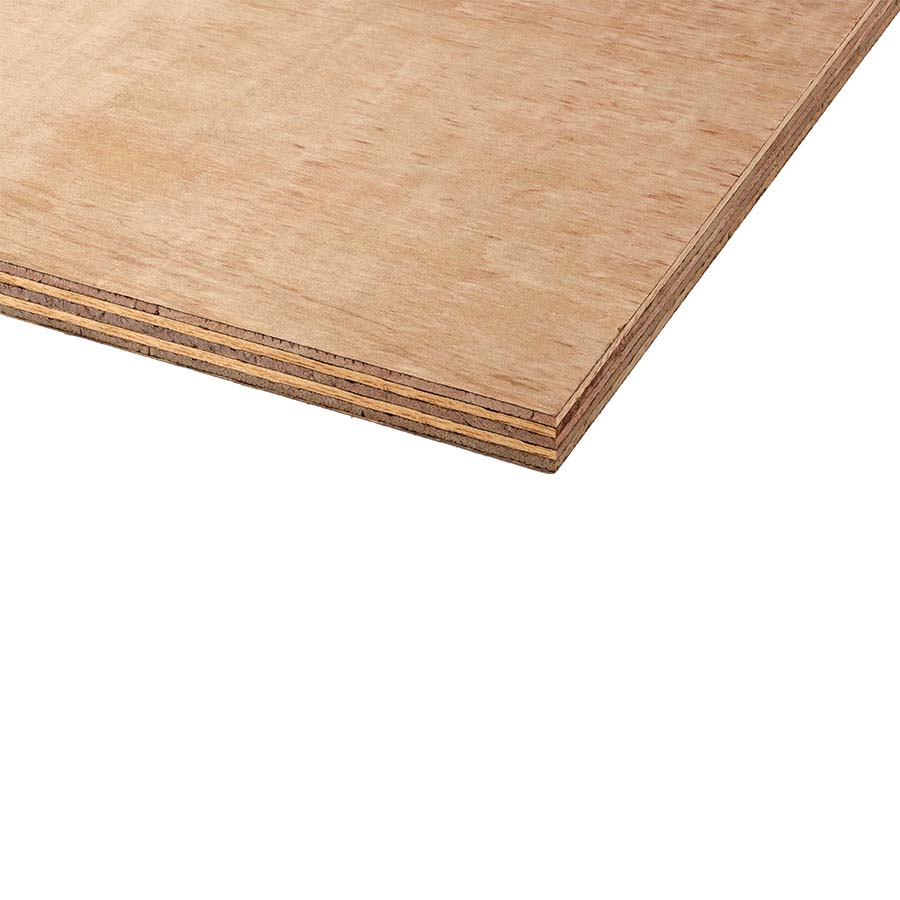 Hardwood Faced Plywood 2440mm x 1220mm x 4mm image 0