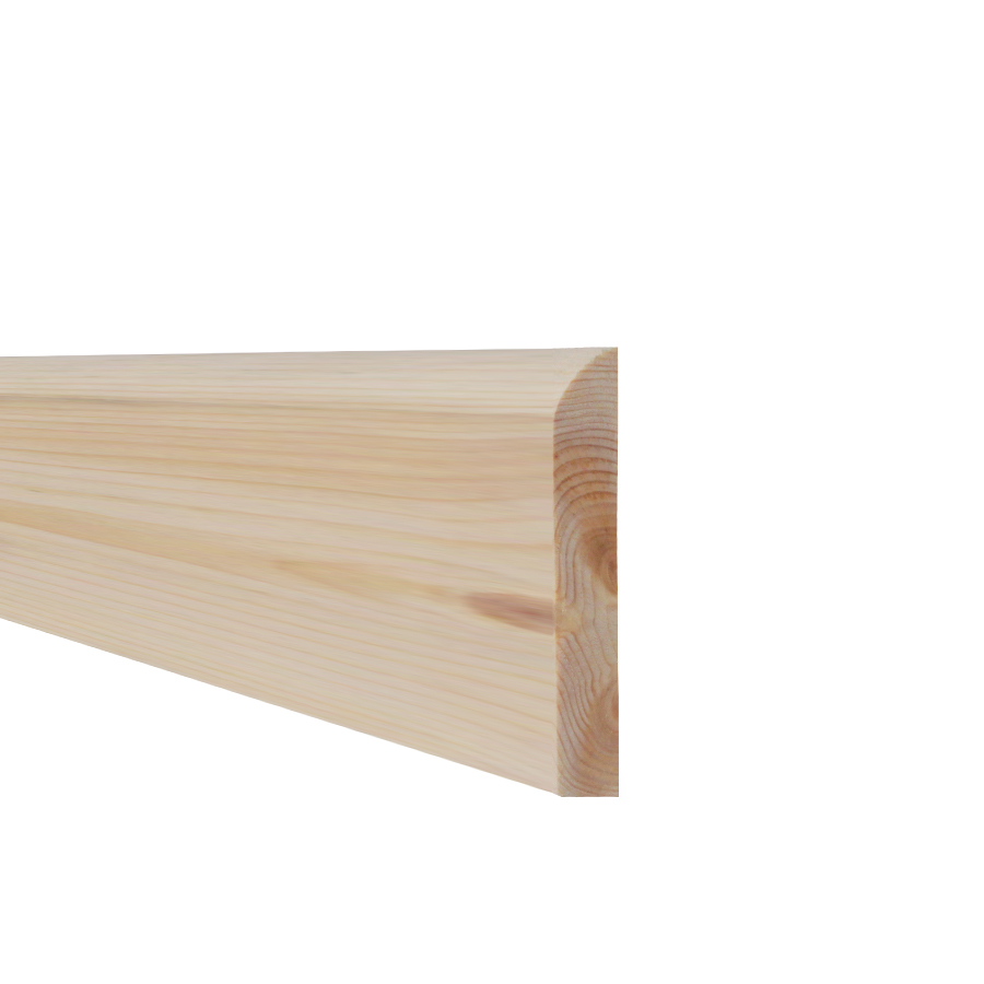 19mm x 75mm Softwood Skirting Pencil Round (15mm x 70mm Finished Size) image 0