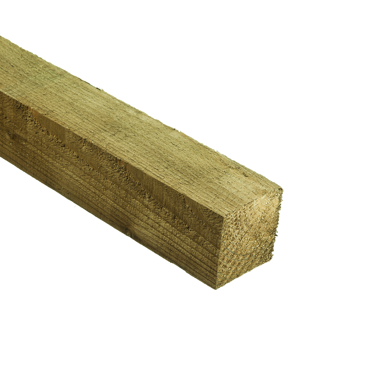 Fence Post Green Treated 100mm x 100mm x 2.4m image 0