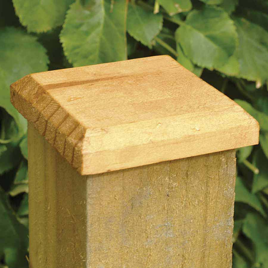 Post Cap Treated 120mm x 120mm for 100mm Post image 0