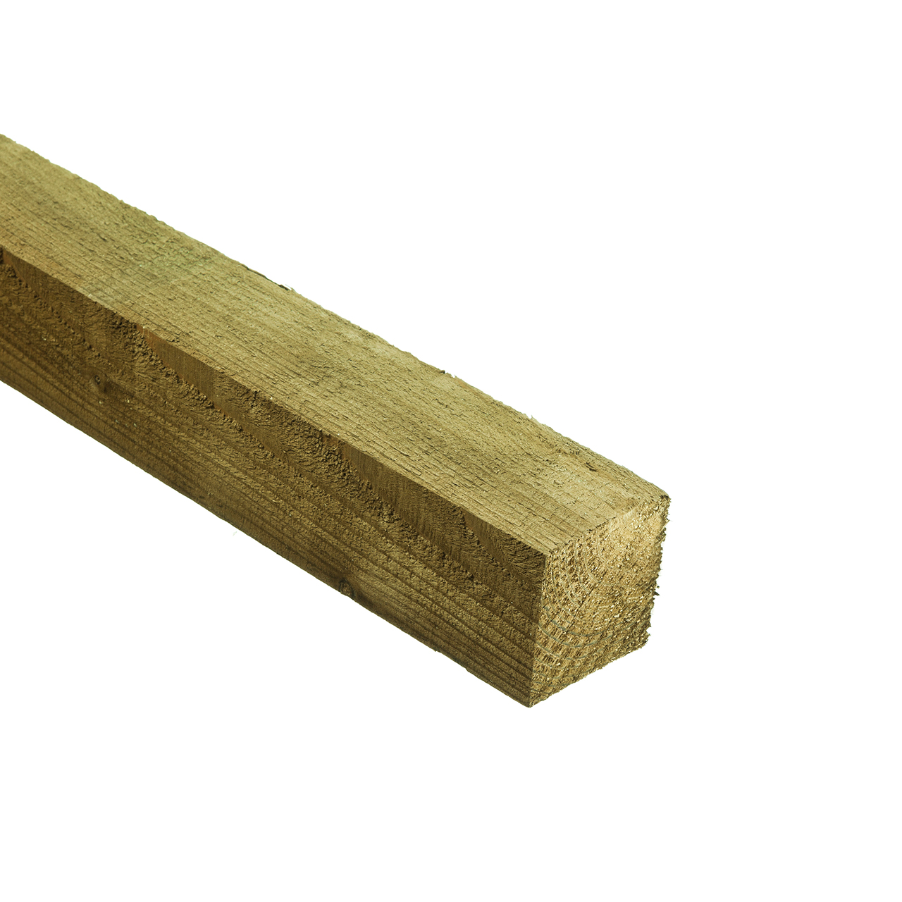 Fence Post Green Treated 75mm x 75mm x 2.4m image 0