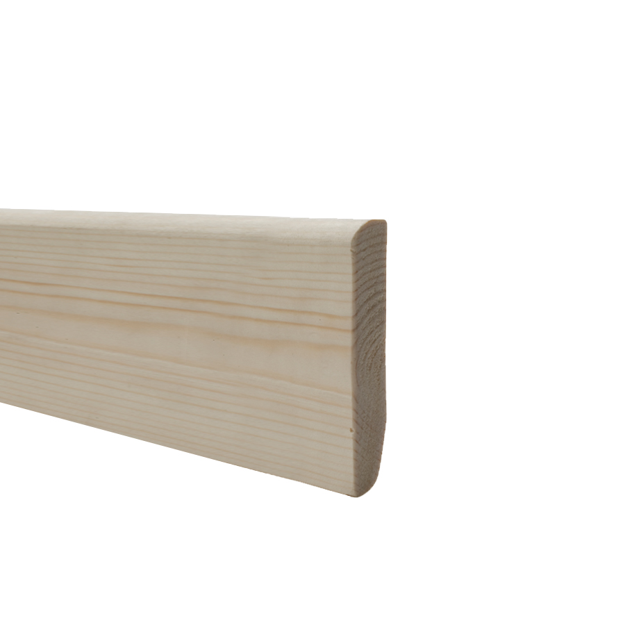 19mm x 100mm Softwood Skirting Dual Purpose (15mm x 95mm Finished Size) image 0