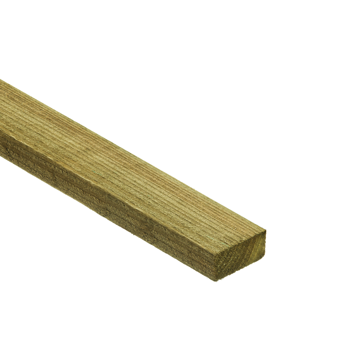 47mm x 75mm Rough Sawn Carcassing Green Treated image 0