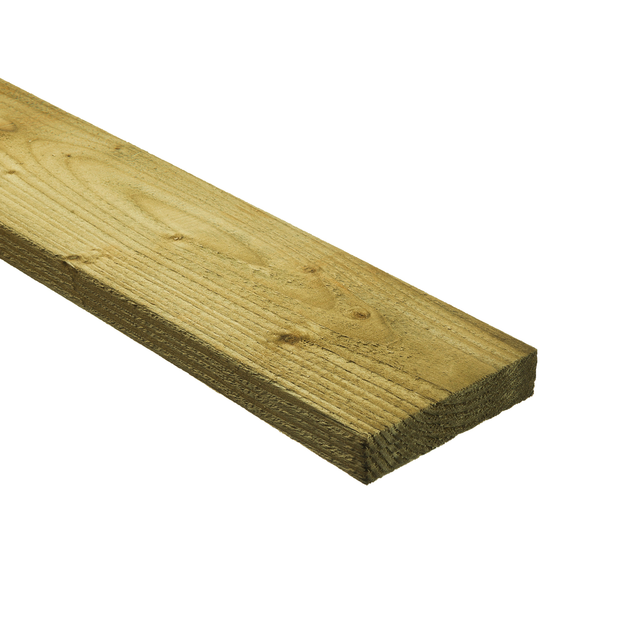 47mm x 150mm Rough Sawn Carcassing Green Treated image 0