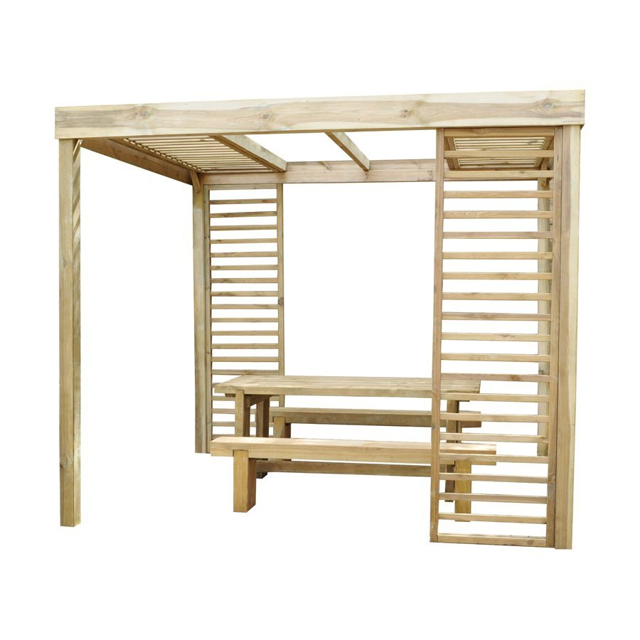 Dining Pergola 2800mm x 3040mm x 2440mm Home Delivered image 1