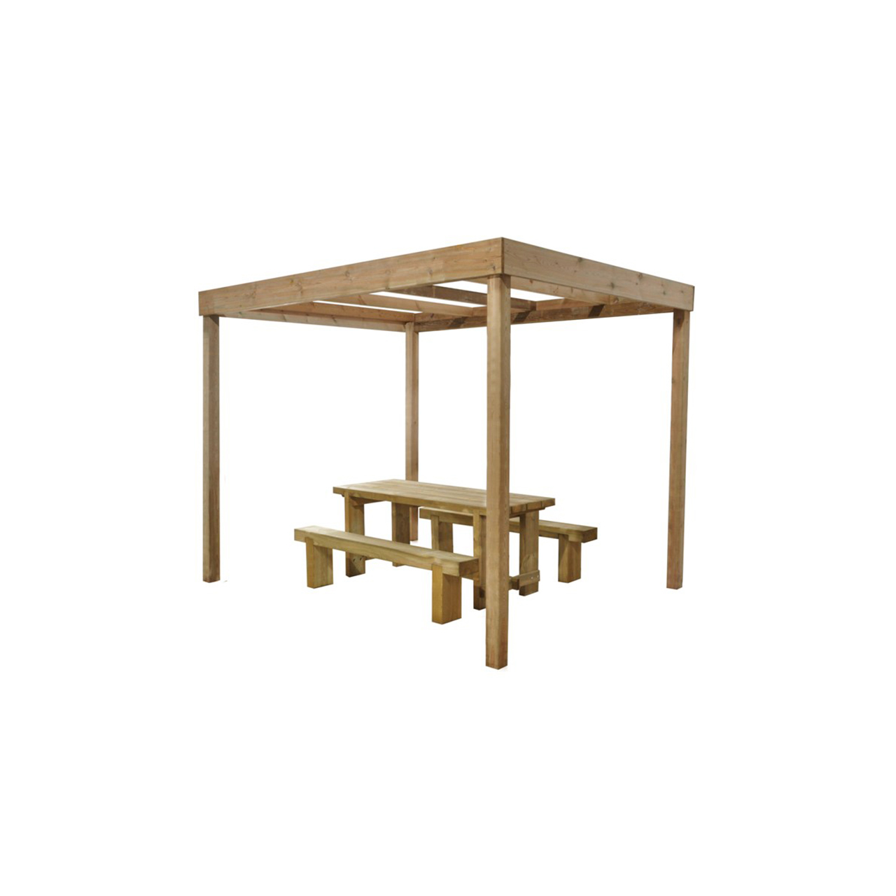 Dining Pergola (Without Panels) 2800mm x 3040mm x 2440mm Home Delivered image 0