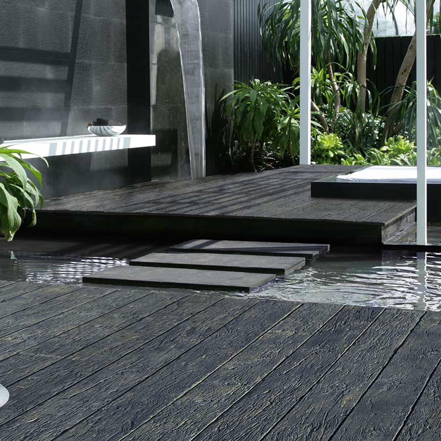 Millboard Composite Decking Fascia Carbonised 16mm x 146mm 3.2m image 2