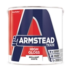 Armstead Trade High Gloss Brilliant White 2.5 Litre