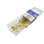 Screw Cups Size No. 9-10 Brass (Pack of 30)
