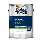 Dulux Trade Emulsion Vinyl Silk Pure Brilliant White 5 Litre