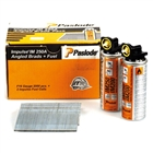 Paslode 300274 F16 x 63mm Galvanised (Pack of 2000 & 2 Fuel Cells)