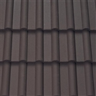 Sandtoft Double Roman Roof Tile Colour Through Smooth Brown