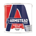 Armstead Trade Quick Dry Gloss Brilliant White 2.5 Litre