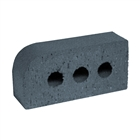 Special Shaped Bricks Smooth Blue Single Bullnose BN.1.2
